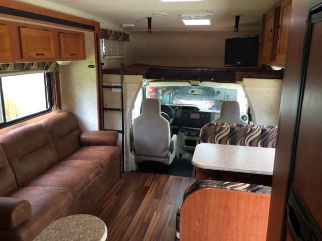 2013 Coachmen Freelander Living-Area